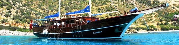 A Candan <BR> Deluxe A/C Ketch - Meridian Travel & Yachting